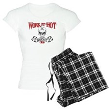 work it hot Lineman logo 3 Pajamas