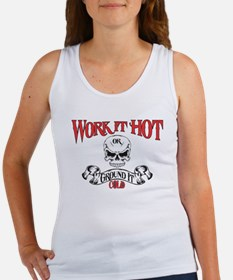 work it hot Lineman logo 3 Women's Tank Top