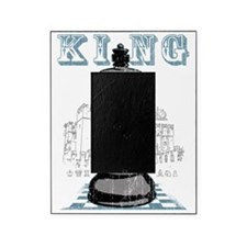 RB chess shirt king blk Picture Frame