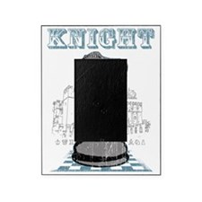 RB chess shirt knight blk Picture Frame