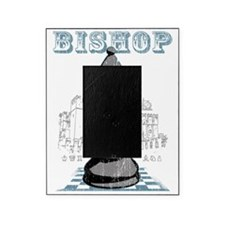 RB chess shirt bishop blk Picture Frame