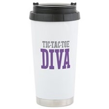 Tic-Tac-Toe DIVA Travel Mug