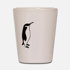 penguin3 Shot Glass