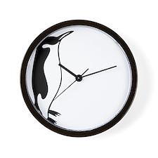 penguin3 Wall Clock