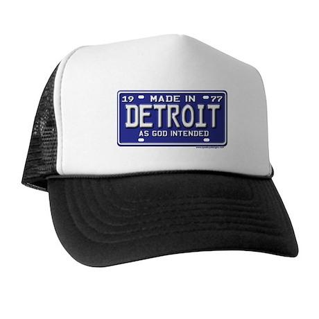 Made in Detroit 1977 License Trucker Hat