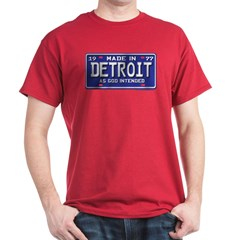 Made in Detroit 1977 License T-Shirt