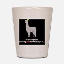 Llamas-D2r-Buttons Shot Glass