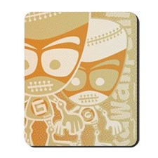 GolemGreetCardStencil Mousepad