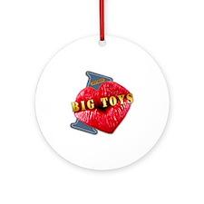 BIGTOYS---I-LOVE Round Ornament