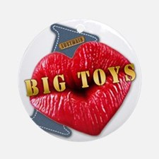 BIGTOYS---I-LOVE Round Ornament