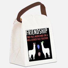Llamas-D14r-Journal Canvas Lunch Bag