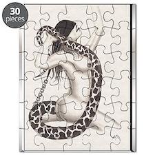 Serpenter le Charmeur poster Puzzle