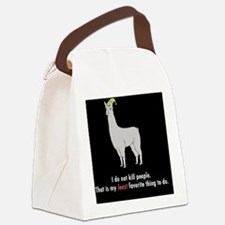 Llamas-D2r-Journal Canvas Lunch Bag