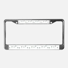 Palm Trees License Plate Frame
