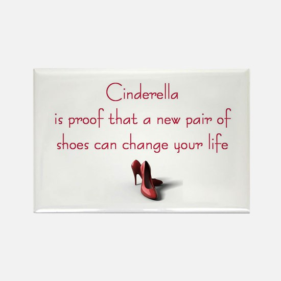 Cinderella is Proof Rectangle Magnet