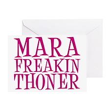 mara freakin thoner Greeting Card