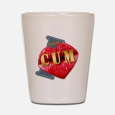 CUM---I-LOVE Shot Glass