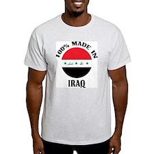 Made In Iraq Ash Grey T-Shirt