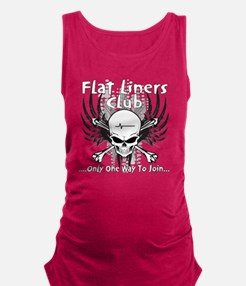 flatliner club back Maternity Tank Top