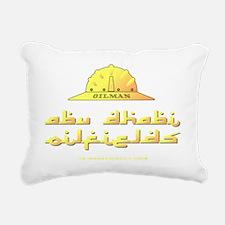 Abu Dhabi Oilman A4 ZZC  Rectangular Canvas Pillow