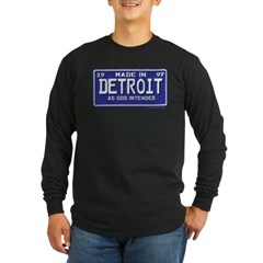 Made in Detroit 1997 Plate T
