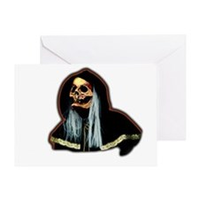 Death Recyle Front Greeting Card