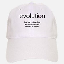 Evolution - bacteria Baseball Baseball Cap