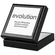 Evolution - bacteria Keepsake Box