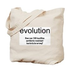 Evolution - bacteria Tote Bag