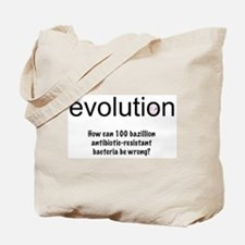 Evolution - bacteria Tote Bag