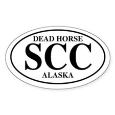 Deadhorse Oval Decal