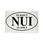 Nuiqsut Rectangle Magnet (100 pack)