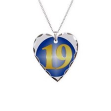 Year19 Necklace Heart Charm