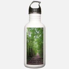 Straight path copy Water Bottle