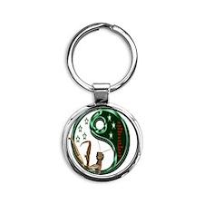 8_5X8_5 Round Keychain