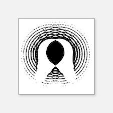 "1984 - George Orwell Square Sticker 3"" x 3"""