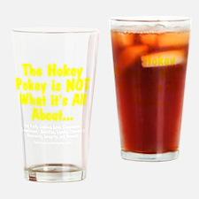 HokeyPokeyWhite Drinking Glass