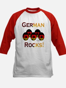 German Football Rocks Kids Baseball Jersey