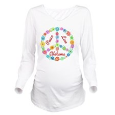 alabama Long Sleeve Maternity T-Shirt