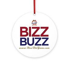 bizz_buzz_tshirts Round Ornament