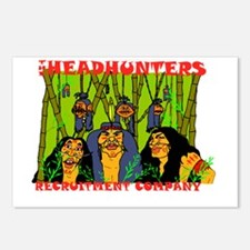 headhunters-ready Postcards (Package of 8)
