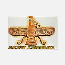 Ancient Aliens Astros Rectangle Magnet