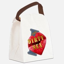 DIRTYSEX---I-LOVE Canvas Lunch Bag
