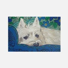 Westie4x6 Rectangle Magnet