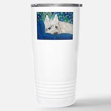 Westie4x6 Stainless Steel Travel Mug