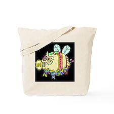 Pig Aloft Tote Bag