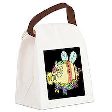 Pig Aloft Canvas Lunch Bag