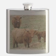 Highland Cattle 9Y316D-017 Flask