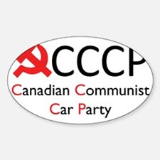 CCCP Decal