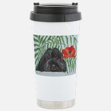 Ruby Red 4x6 Stainless Steel Travel Mug